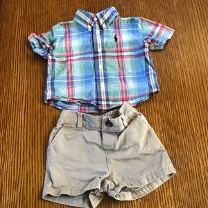 Tommy Hilfiger baby boy shorts set